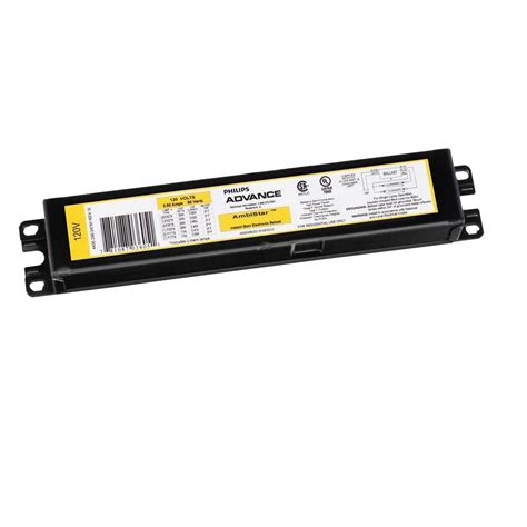 fluorescent light ballast replacement ambistar 120 volt 3 to 4 l t8 instant start electronic