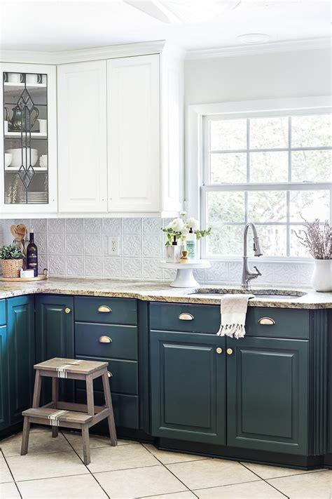 green kitchen cabinet update blesser house