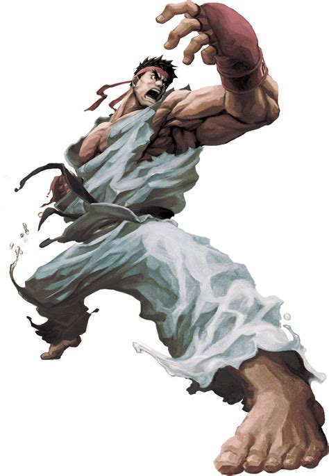 Ryu The Street Fighter Wiki Street Fighter 4 Street