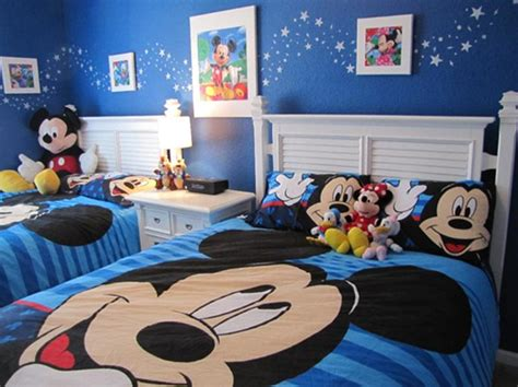 Mickey Mouse Bedroom Ideas by 15 Mickey Mouse Inspired Bedrooms For Rilane