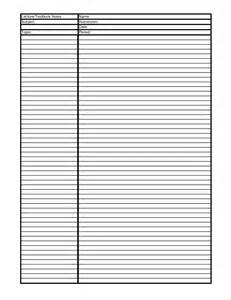 Cornell Notes Template Printable