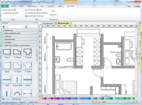 easy drafting software edraw