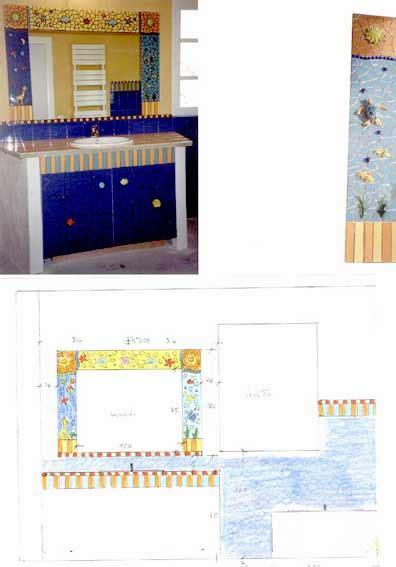 Deco Mosaique Salle De Bain Salle De Bain D 233 Coration Odile Maffone Mosaiste