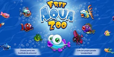 jeu de poisson aquarium free aqua zoo jeu gratuit de gestion simulation