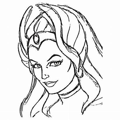 Power Princess Line Ra She Coloring Pages