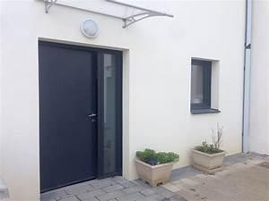 Porte D Entrée Vitrée Aluminium : porte d 39 entr e pleine semi vitr e ou vitr e blog ~ Melissatoandfro.com Idées de Décoration