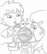 Diego Go Coloring Pages Print sketch template