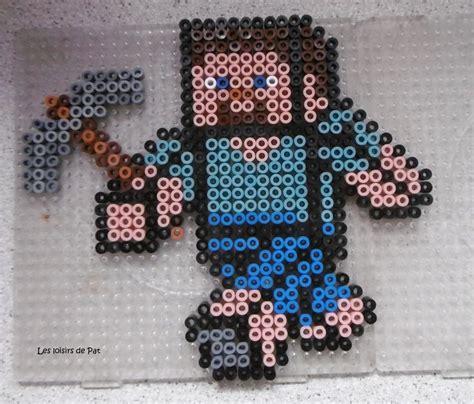 hama minecraft ideas  pinterest hama beads