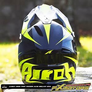 Casque Moto Airoh : casque cross airoh twist freedom jaune brillant fx motors ~ Medecine-chirurgie-esthetiques.com Avis de Voitures