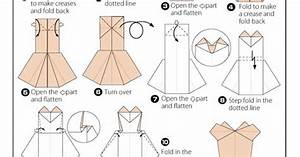 Free Origami Dress Instructions