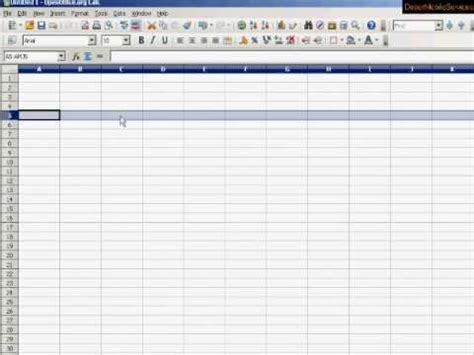 making and creating spreadsheets 1 make a spreadsheet for your home or business tutorial