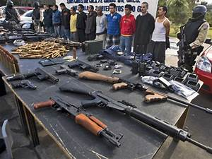 Operation Fast And Furious  Guns Found At Mexican Crime