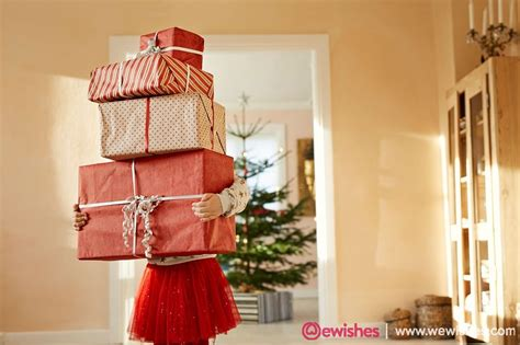 gift spread room stack standing tall holding living arrangements ones loved gifts presents christmas