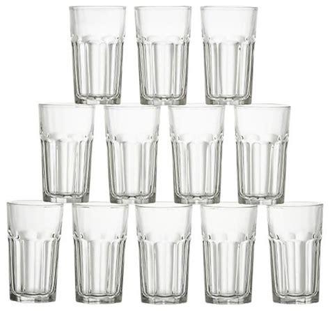 Kitchen Juice Glasses by Set Of 12 Gibraltar Juice Glasses Modern Everyday