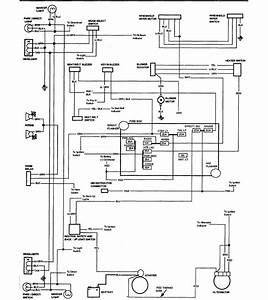 1978 Chevrolet El Camino Wiring Diagram Part 2  61805
