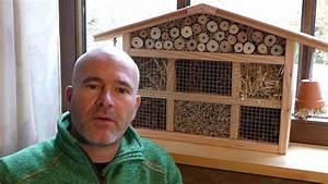 Wie Baue Ich Ein Gartenhaus : insektenhotel selber bauen nisthilfe kleines haus youtube ~ Markanthonyermac.com Haus und Dekorationen