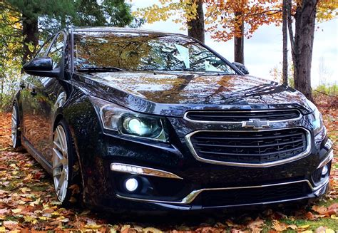 lowered  chevy cruze lt rs  spd manual mods