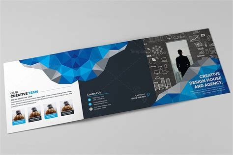 Modern Brochure Template by Modern Trifold Brochure Template 000429 Template Catalog