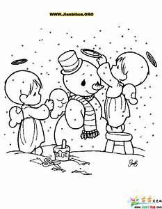 雪人简笔画图片图片