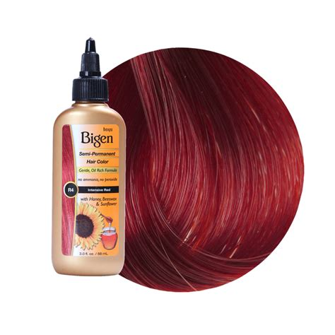 bigen semi permanent hair color intensive red reviews
