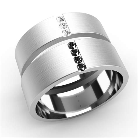 wedding rings diamond set bands white gold ebay