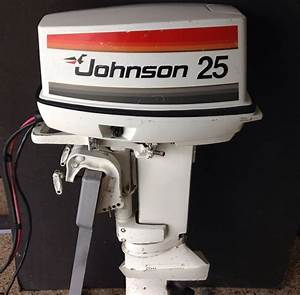 1977 Johnson 25 Hp Short Remote Electric Outboard Motor