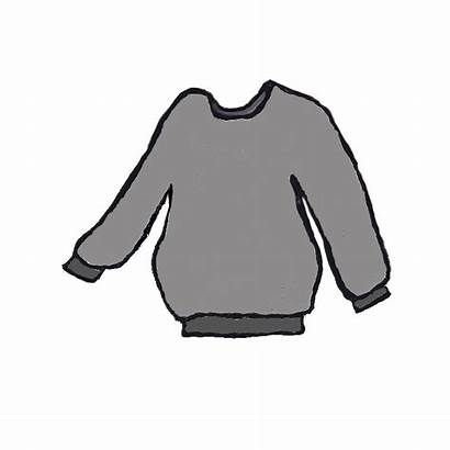 Sweater Clip Clipart Grey Cliparts Jv Cardigan