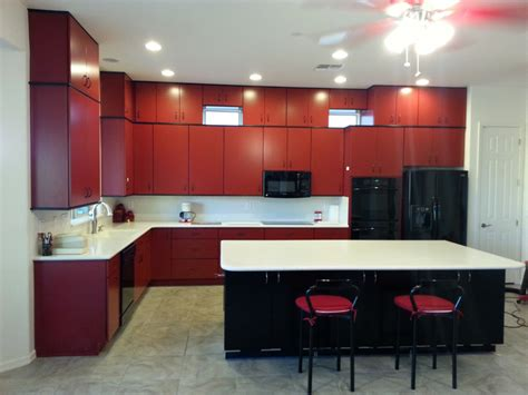 red countertops   cheap red countertops