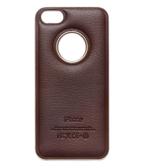 iphone 5s back cover le dazzio golden back cover for apple iphone 5s screen