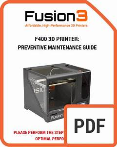 Manuals  U0026 Downloads  U2013 Fusion3 F400