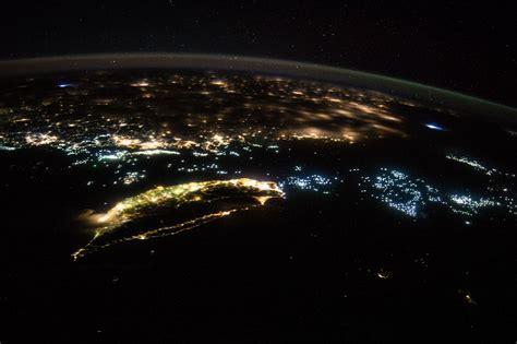 Oblique Night Image of Taiwan and China | NASA