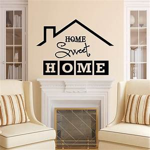 Home Sweat Home : home sweet home wall decal quote home sweet home sign vinyl ~ Markanthonyermac.com Haus und Dekorationen