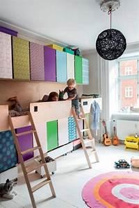 Chambre Enfant 2 Ans : am nager une chambre d enfant tout en longueur viving ~ Teatrodelosmanantiales.com Idées de Décoration
