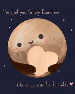 Pluto is the cutest planet ever by KuroCyou on DeviantArt