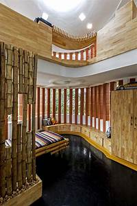Interior, That, Blends, Traditional, Indian, Features, And, Modern, Style