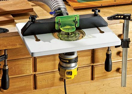 rockler compact  trim router table