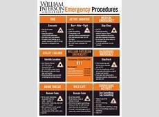Emergency Procedures William Paterson University