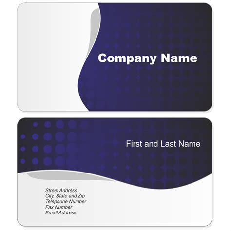 Blank Business Card Template Psd Best Business Cards