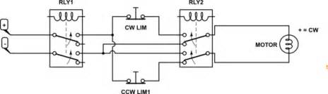 Motor How Can Add Two Limit Switches This