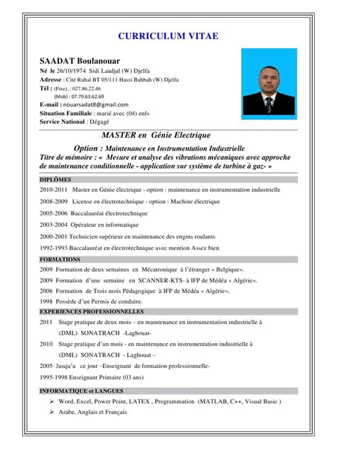 Télécharger Un Cv Word by Resume Format Cv Original Enseignant