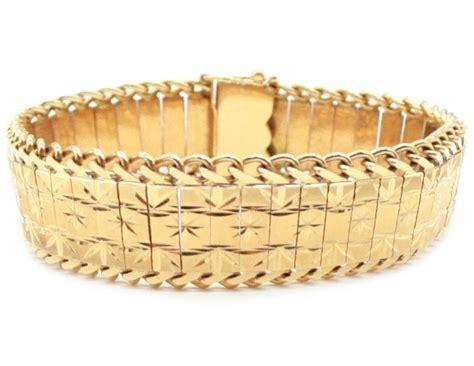 antique  yellow gold bracelet