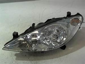 Phare Peugeot 307 : optique avant principal gauche feux phare peugeot 307 sw phase 1 diesel ~ Gottalentnigeria.com Avis de Voitures