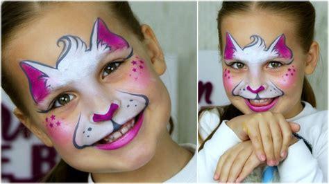 Katzengesicht Schminken Fasching Ideen Für Kinder Und