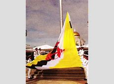 National Flag and National Anthem of Brunei Darussalam