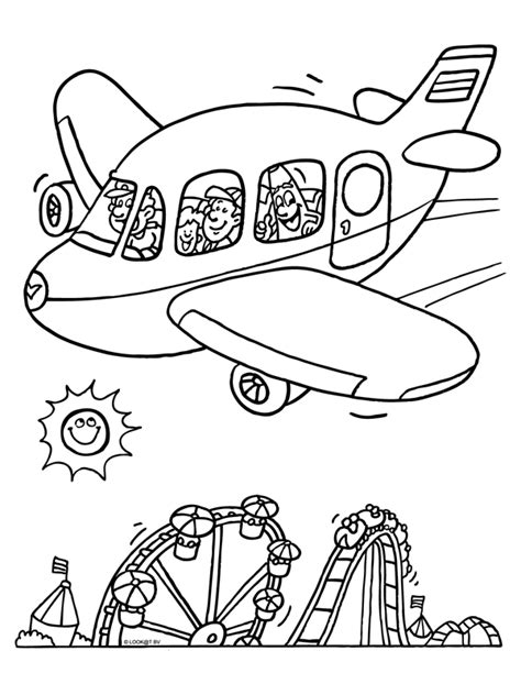 Vakantie Kleurplaat by Kleurplaat Vakantie Kleurplaten Vakantie Kleurplaten