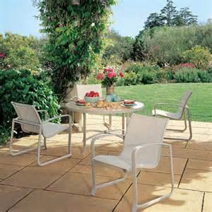 tropitone montreux sling 5 piece dining set mckays furniture