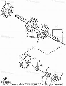 Yamaha Snowmobile 1999 Oem Parts Diagram For Track Drive 1