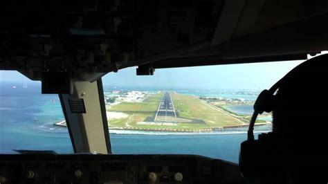 Flight Deck Rochelle Airport by Landing 767 Flightdeck View Mle Airport