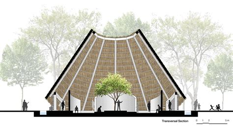 HUT: Architecture concept for a spiritual community