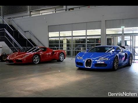 Bugatti Veyron Vs by Bugatti Veyron Vs Enzo